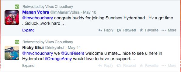 Congratulations to Vikas Choudhary 1